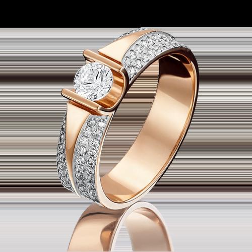 Кольцо из красного золота 01-1275-00-502-1110-38