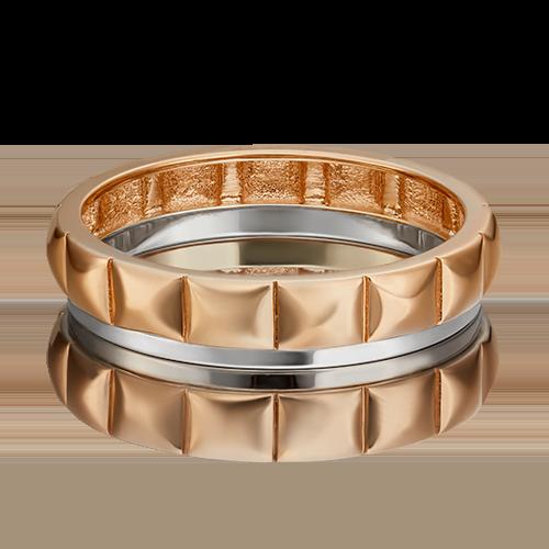 Обручальное кольцо из комбинированного золота 01-5434-00-000-1111-39