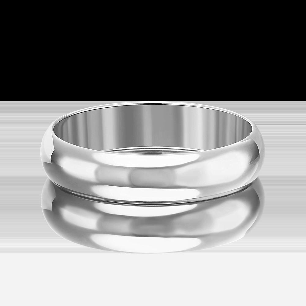 Обручальное кольцо из белого золота 01-3394-00-000-1120-11