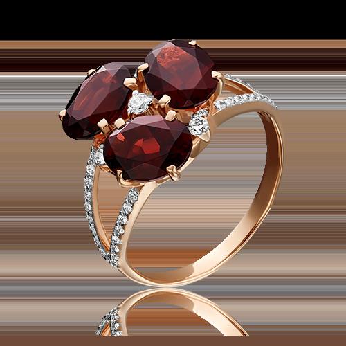 Кольцо из красного золота 01-2222-00-210-1110-46