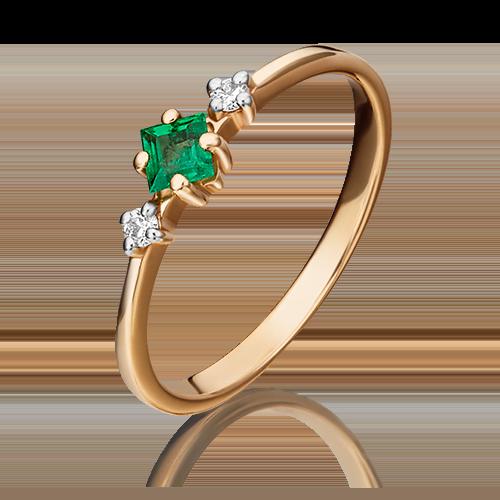 Кольцо из красного золота 01-1468-00-106-1110-30