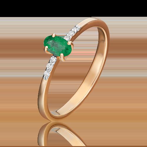 Кольцо из красного золота 01-1470-00-106-1110-30