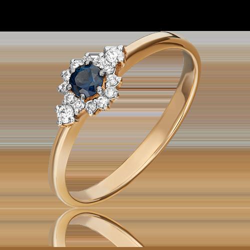 Кольцо из красного золота 01-1473-00-105-1110-30