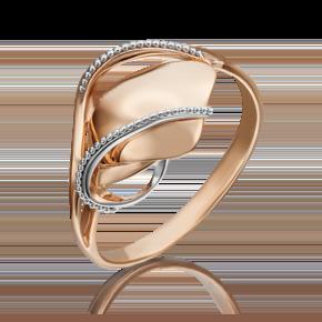 Кольцо из красного золота 01-5249-00-000-1110-42