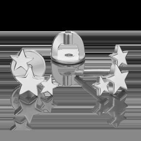 Серьги-пусеты из серебра 02-4615-00-000-0200-71