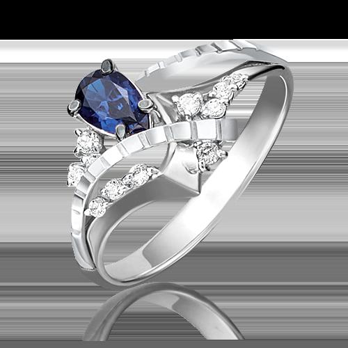 Кольцо из белого золота 01-5201-00-105-1120-30