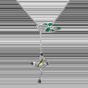 Колье из серебра с эмалью 07-0236-00-000-0200-71