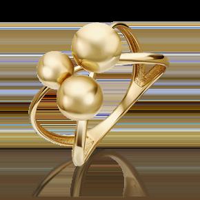 Кольцо из лимонного золота 01-5303-00-000-1130-42