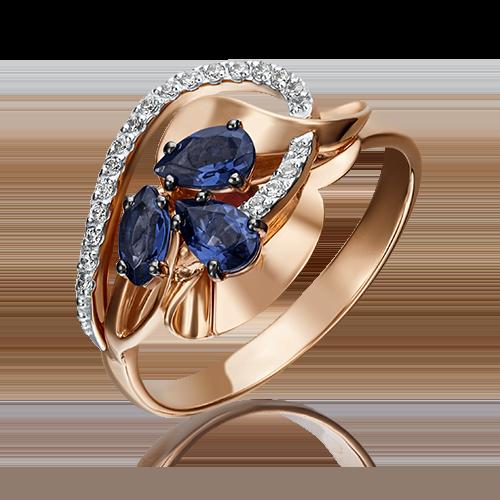 Кольцо из красного золота 01-5221-00-105-1110-30