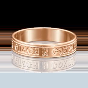 Кольцо из красного золота 01-4667-00-000-1110-01