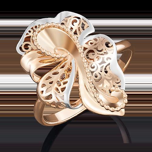 Кольцо из красного золота 01-5033-00-000-1110-48