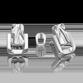 Серьги-пусеты из серебра 02-4961-00-000-0200