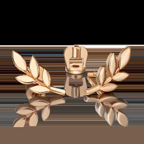 Серьги из красного золота 02-4697-00-000-1110-59