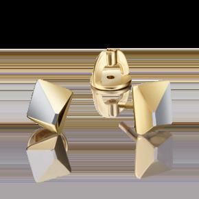 Серьги-пусеты из лимонного золота 02-4222-00-000-1130-02