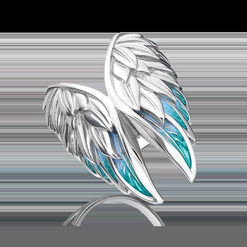 Кольцо из серебра с эмалью 01-5472-00-000-0200-68