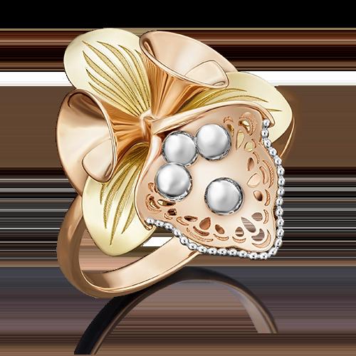 Кольцо из комбинированного золота 01-5053-00-000-1113-48