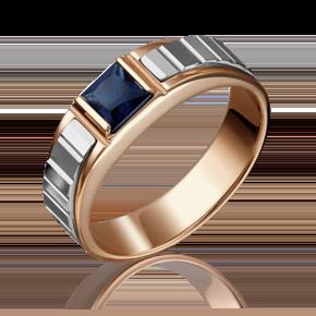 Кольцо из комбинированного золота с сапфиром 01-5216-00-102-1111-30