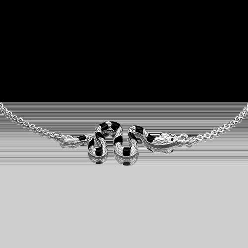 Браслет из серебра с эмалью 05-0646-00-000-0200-68