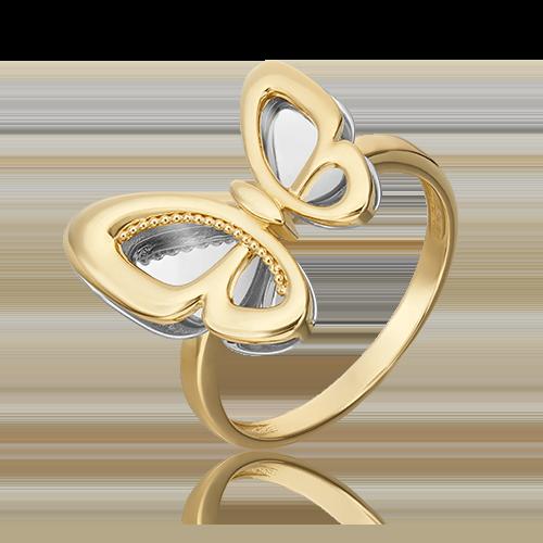 Кольцо из лимонного золота 01-5503-00-000-1121