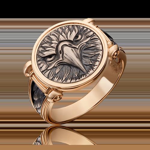 Печатка из комбинированного золота 01-5299-00-000-1111-42