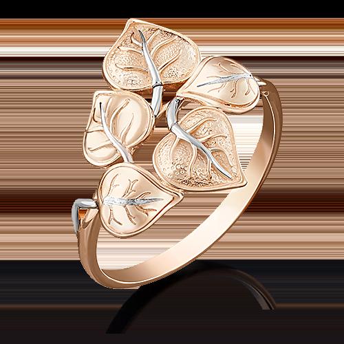 Кольцо из красного золота 01-5046-00-000-1110-59