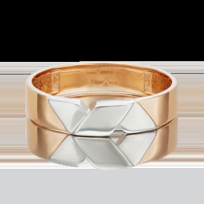 Обручальное кольцо из комбинированного золота 01-5429-00-000-1111-39