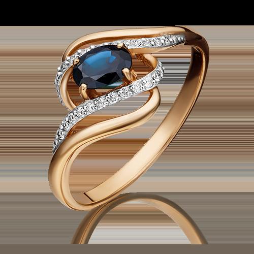 Кольцо из красного золота 01-1455-00-105-1110-30