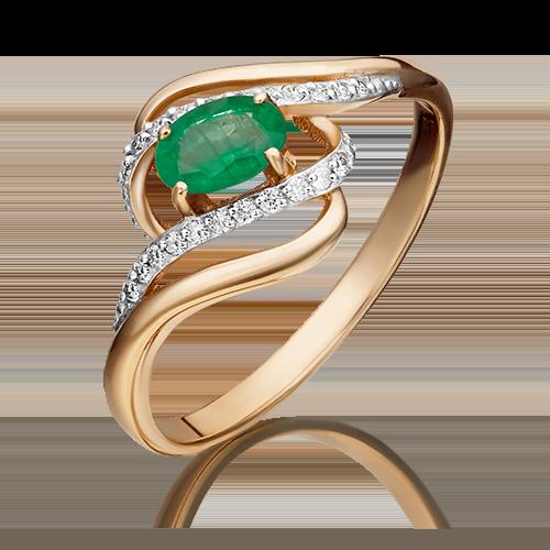 Кольцо из красного золота 01-1455-00-106-1110-30