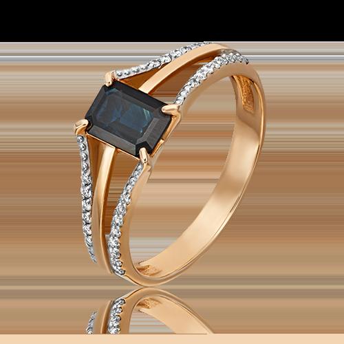 Кольцо из красного золота 01-1457-00-105-1110-30