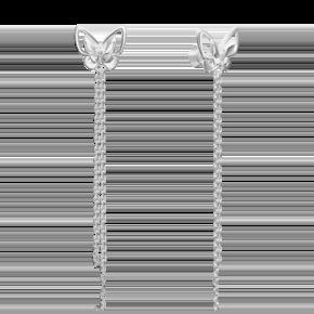 Серьги-пусеты из серебра 02-4632-00-000-0200-71