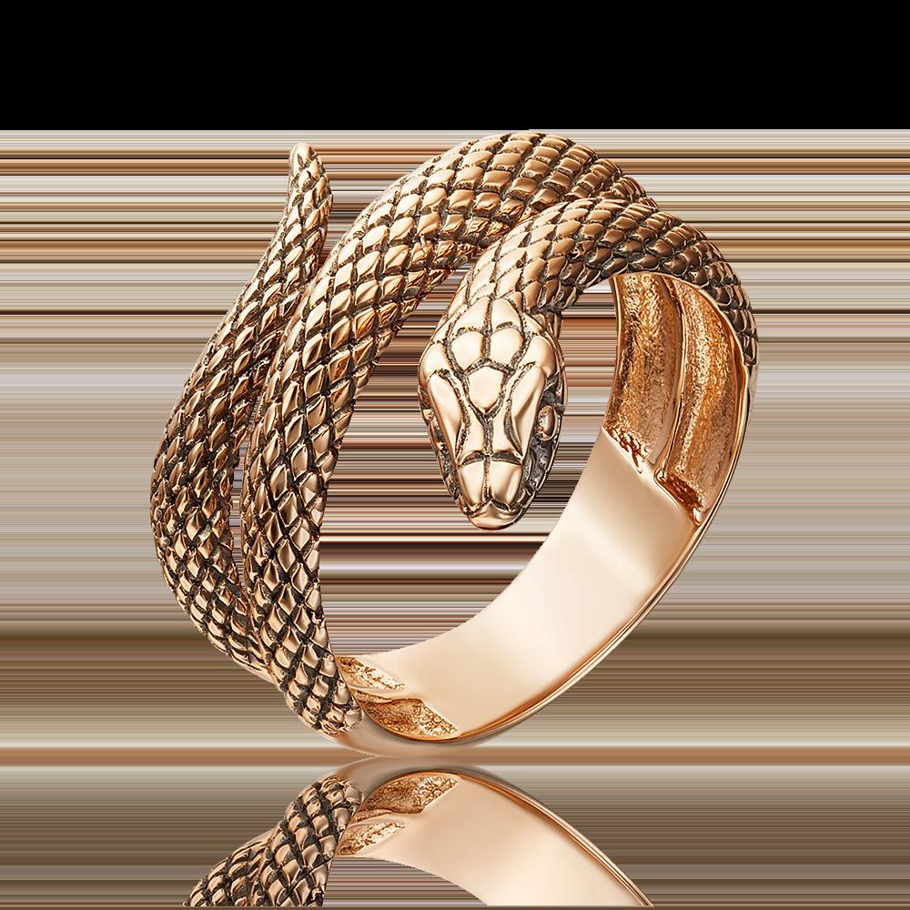 Кольцо из красного золота 01-5372-00-000-1110-42