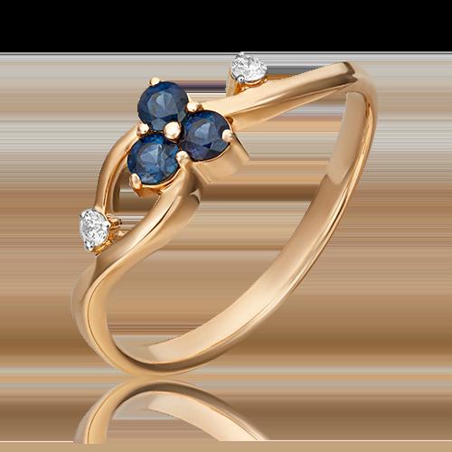 Кольцо из красного золота 01-0674-00-105-1110-30