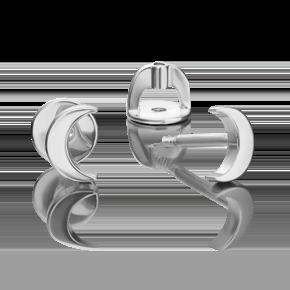 Серьги-пусеты из серебра 02-4611-00-000-0200-71