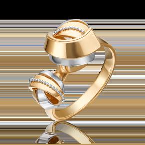 Кольцо из лимонного золота 01-5261-00-000-1130-48