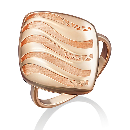 Кольцо из красного золота 01-4959-00-000-1110-48